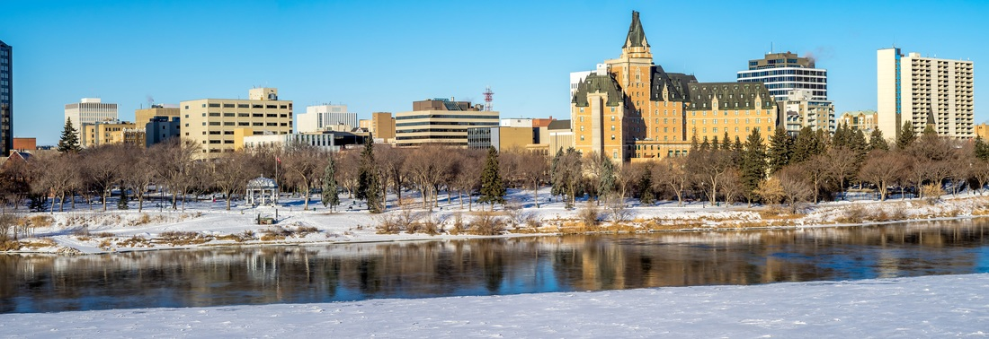 Saskatoon Panorama Downtown